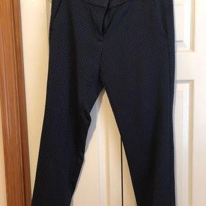 Loft Navy Blue Slack Pants